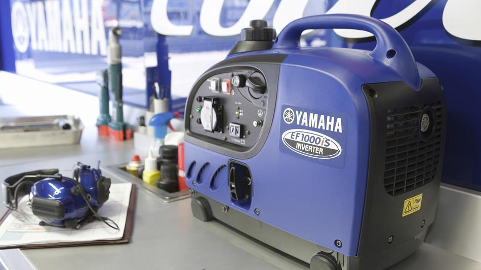 Генератор Yamaha EF1000 в Аксайе
