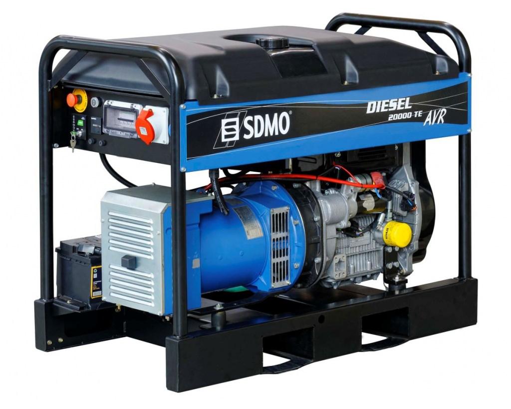 Генератор SDMO DIESEL 20000 TE XL AVR C в Аксайе